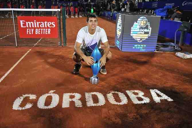 Christian Garín extiende su recuperación y reaparecerá en el ATP de Buenos Aires