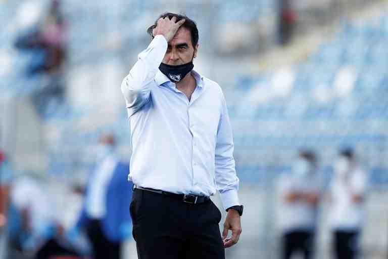 Colo Colo: fracaso en la negociación por Branco Ampuero irrita al DT Gustavo Quinteros