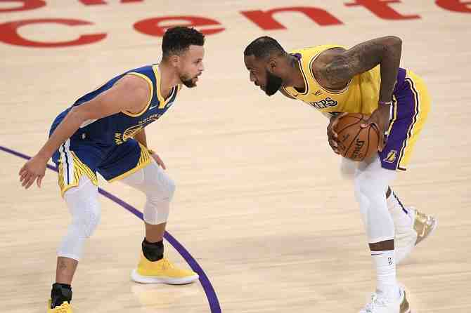 Un aperitivo fantástico en los playoffs de la NBA: LeBron James y Stephen Curry se vuelven a ver las caras