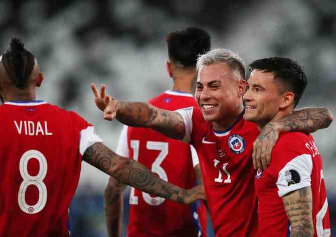 Vargas, el goleador que no perdona en la Copa América
