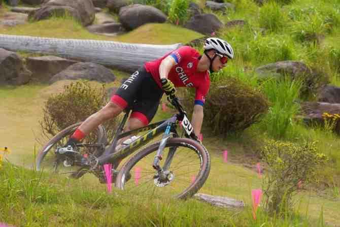 Martín Vidaurre es top 20 en Tokio y confirma su ascensión en el mountain bike