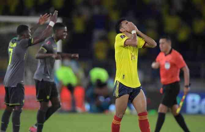 Final de infarto: el VAR negó el triunfo a Colombia en el décimo minuto de descuento